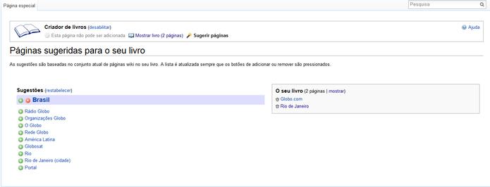 Complete sua pesquisa utilizando as páginas sugeridas pela Wikipedia (Foto: Reprodução/Carol Danelli)