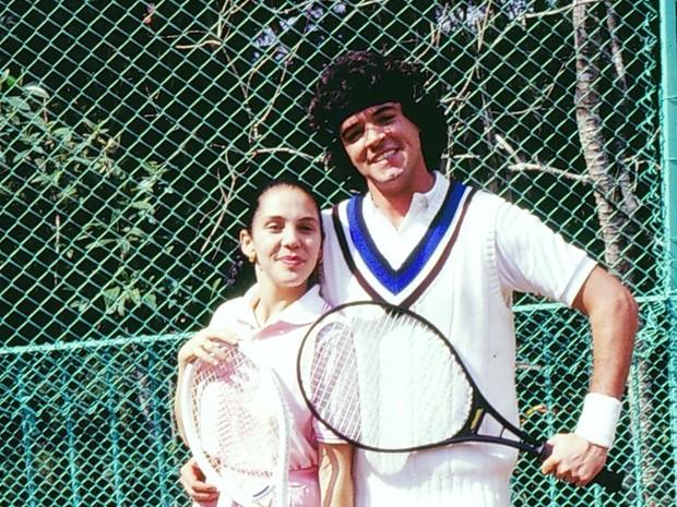 Isabela (Isabela Garcia) e Adriano (Felipe Camargo) em O Sexo dos Anjos