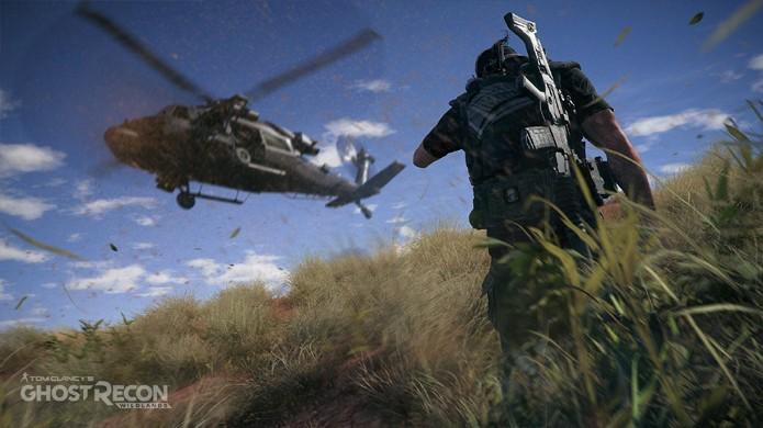 Ghost Recon: Wildlands permite que até 4 jogadores cooperem para completar objetivos em um grande mundo aberto (Foto: Reprodução/Eurogamer)