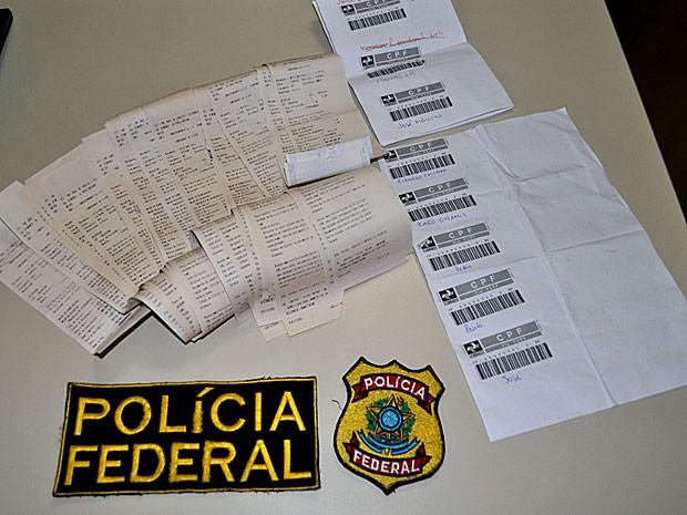 Operação Alter Ego -- Receita Federal e Polícia Federal em cinco estado (Foto: Divulgação / Polícia Federal)
