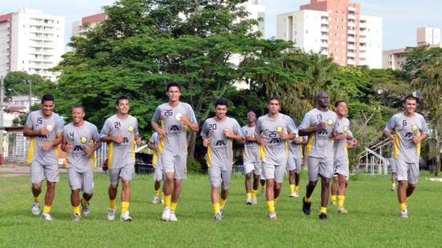 Elenco do Joseense treina em São José dos Campos (Foto: Divulgação)