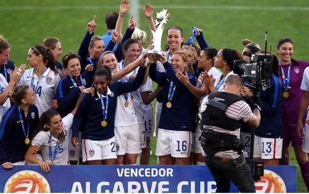 Copa Algarve - Estados Unidos campeões