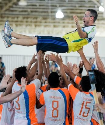 Caic nos Jogos Escolares da Juventude (Foto: Washington Alves/Exemplus/COB)