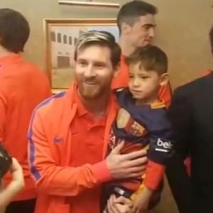 Murtaza Ahmadi garoto afegão Barcelona Messi (Foto: Divulgação)