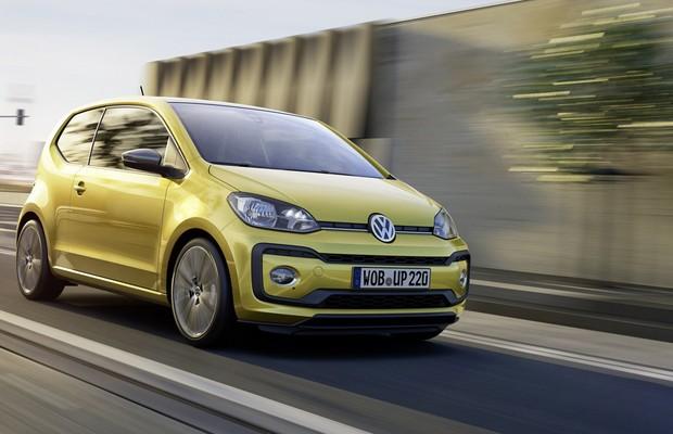 VW UP! europeu facelift (Foto: Divulgação)