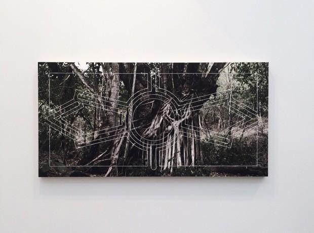 Marcelo Moscheta na Galeria Vermelho (Foto: divulgação)