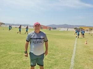 Pedro Manta, técnico do Afogados (Foto: Divulgação/Afogados)