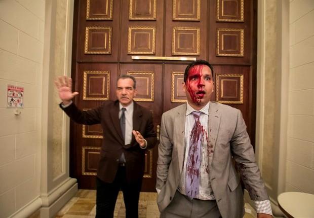 Ataque parlamento Venezuela (Foto: EFE/MIGUEL GUTIÉRREZ)