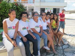 Jovens de Eldorado dizem que desemprego é o maior problema da cidade (Foto: Anna Gabriela Ribeiro / G1)
