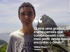 Estudante de Itaquera é aprovado na Fuvest e sonha em ser diplomata