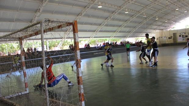 Caic x Darwin - Copa Nordeste de Handebol (Foto: Emanuele Madeira/GLOBOESPORTE.COM)