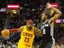 """Cavs pegam os Spurs, e LeBron volta a enfrentar seu maior """"calo"""" na NBA"""