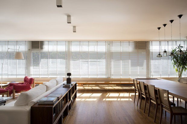 Sala integrada: 15 ideias de como unir ambientes (Foto: Denilson Machado / MCA Estúdio / divulgação)
