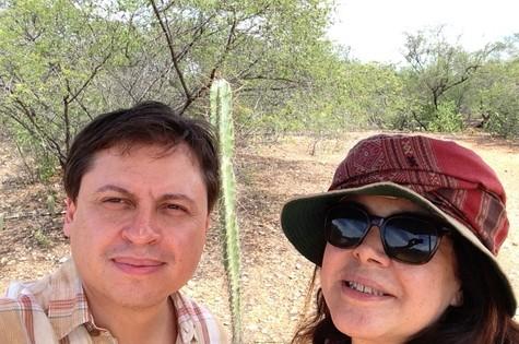 Gerson Camarotti e Cristina Aragão (Foto: Divulgação)