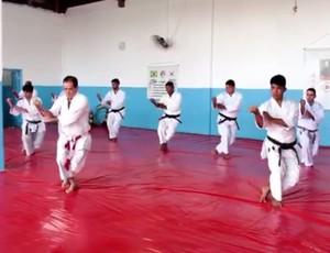 Karate em Rondônia (Foto: Rede Amazônica/ Reprodução)