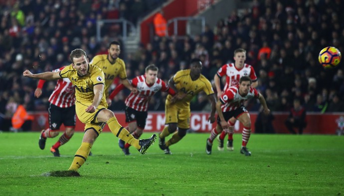 Harry Kane, Southampton x Tottenham (Foto: Julian Finney/Getty Images)