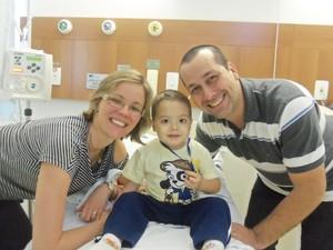 Paula, Paulinho e Octávio 1 (Foto: Paula Chagas/ Arquivo Pessoal)