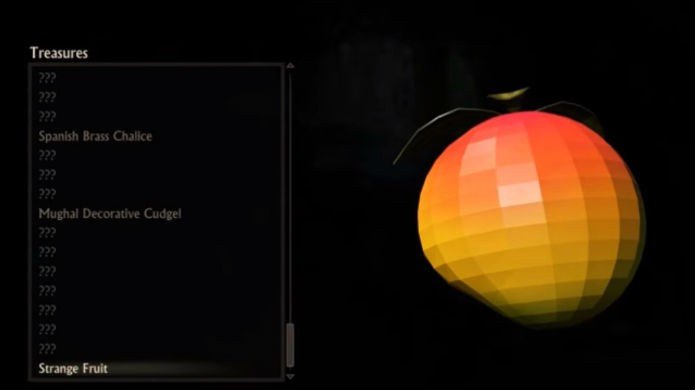Uncharted 4: a fruta é um easter egg de Crash Bandicoot (Foto: Reprodução/Thomas Schulze)