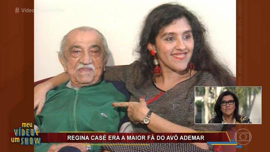 Regina Casé se emociona ao ver cenas de Ademar Casé: 'Meu avô é a fonte de tudo'