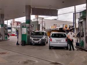 Postos de combustíveis de João Pessoa (Foto: Diogo Almeida/G1)