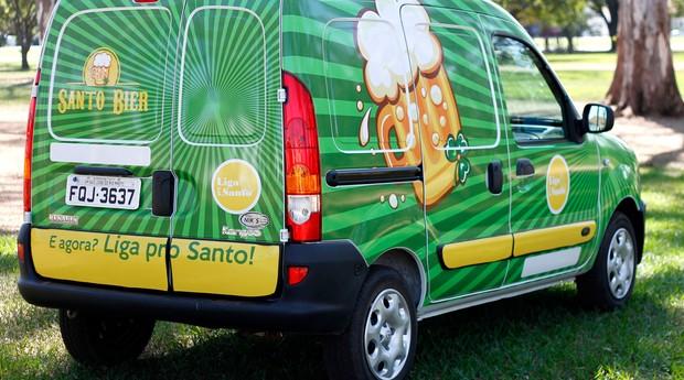 """Investimento na """"Milagre do Santo"""", um bar itinerante instalado em uma Renault Kangoo, é de cerca de R$ 85 mil (Foto: Divulgação)"""
