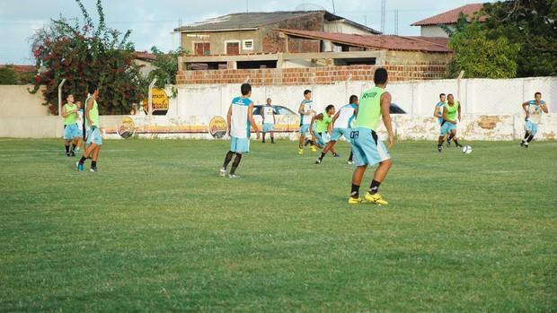 csp treino  (Foto: Lucas Barros / Globoesporte.com/pb)