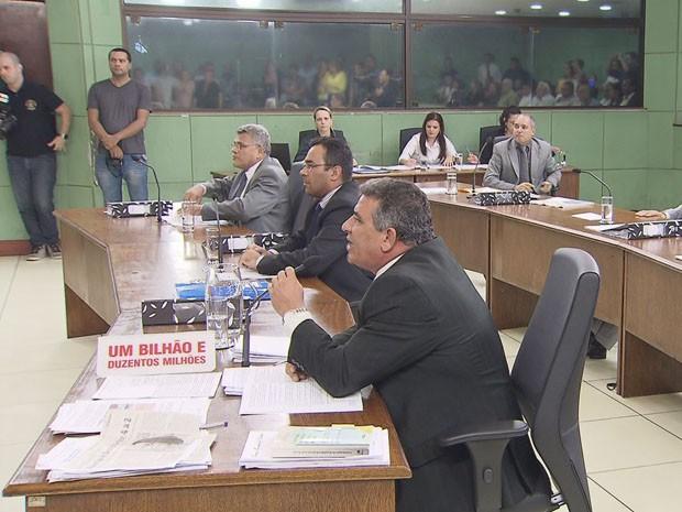 Comissão foi votada na Câmara de Cubatão, SP (Foto: Reprodução / TV Tribuna)
