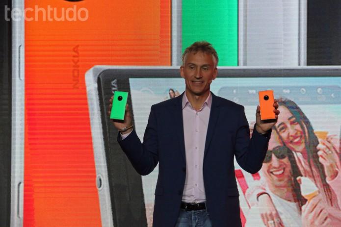 Microsoft MoreLumia Lumia 830 (Foto: Fabrício Vitorino/TechTudo)