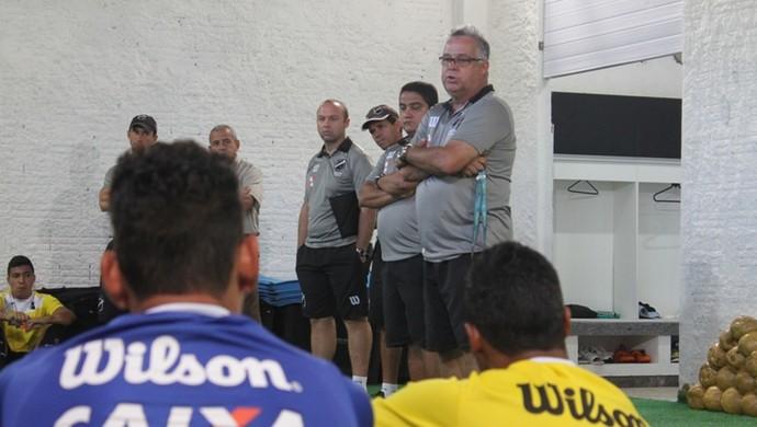 Josué Teixeira - técnico do ABC (Foto: Divulgação/ABC)