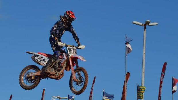 Motocross em Sergipe (Foto: João Áquila / GLOBOESPORTE.COM)