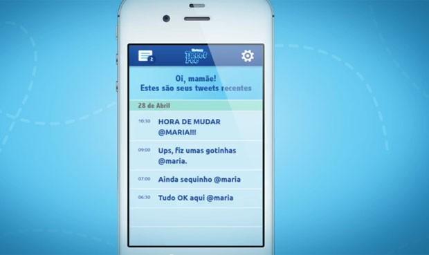 Mensagens são enviadas por Twitter para o celular dos pais quando bebê faz xixi (Foto: Divulgação/Huggies)