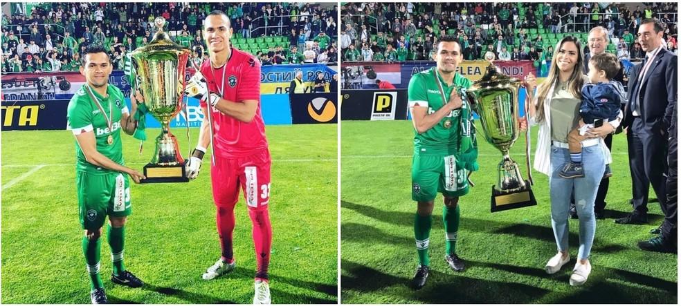 João Paulo conquistou o Campeonato Búlgaro atuando pelo Ludogorets (Foto: Divulgação)