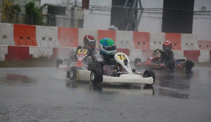 Andrew Marciel, piloto de kart filho de paraibano (Foto: Divulgação)