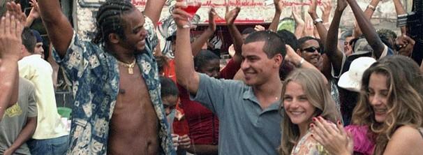 Filmagens foram feitas na favela do Cantagalo (Foto: Divulgação / Reprodução)