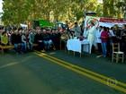 No RS, agricultores protestam por solução para os conflitos de terra
