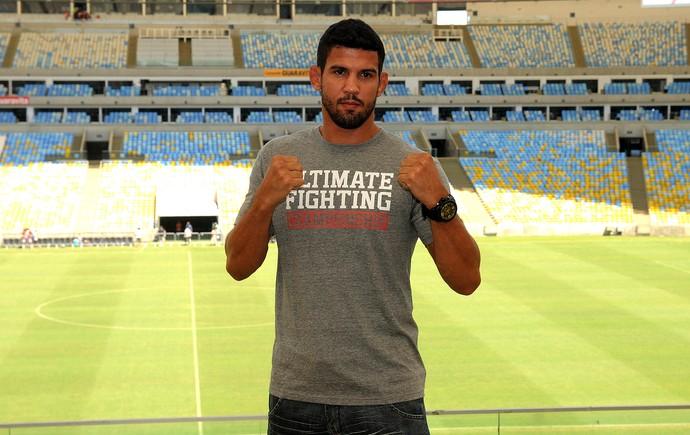Leo santos UFC  RJ Maracanã (Foto: André Durão)