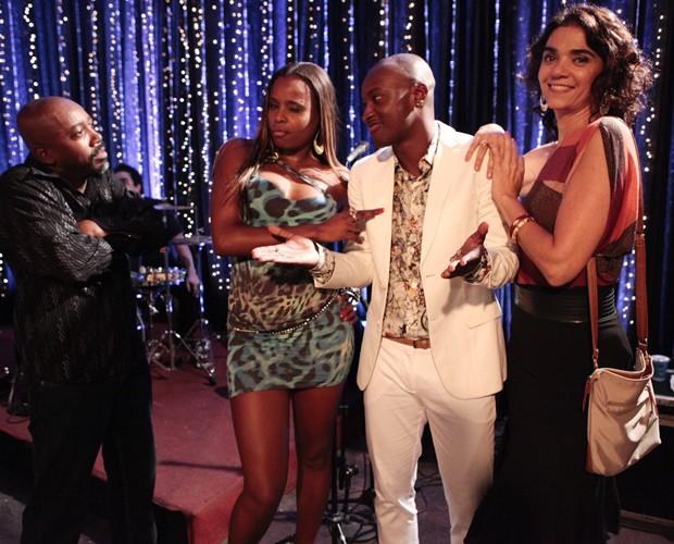 Thiaguinho mandou bem em uma participação na novela 'Salve Jorge' (Foto: TV Globo)