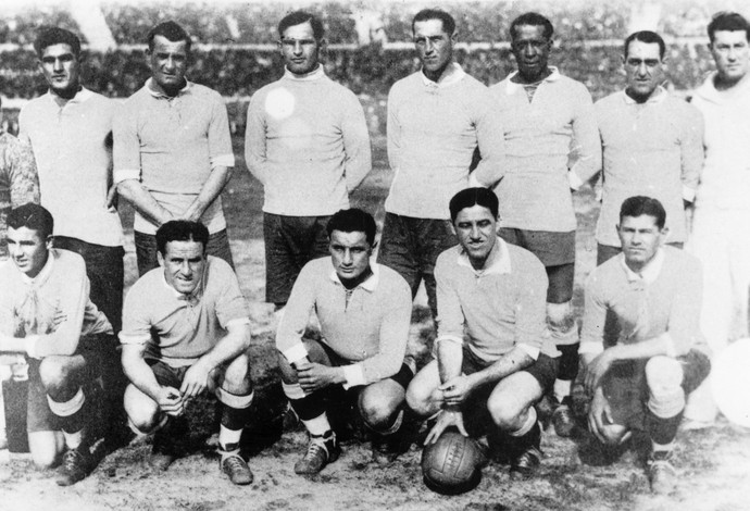 Copa do mundo: Uruguai campeão 1930 (Foto: Getty Images)