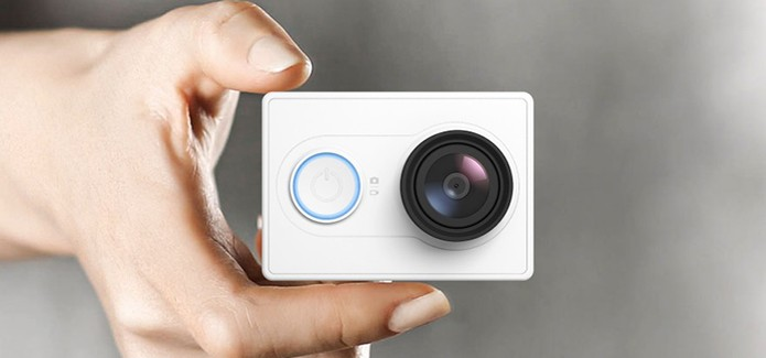 Mi Pro Action Camera da Xiaomi faz gravação Full Hd (Divulgação/Xiaomi)