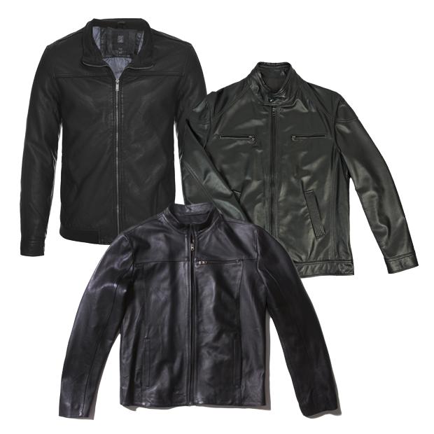 Em sentido horário: jaquetas Memove (R$ 259,90), Zappala (R$ 1.389 ) e Calvin Klein White Label (R$ 3.690) (Foto: Divulgação)