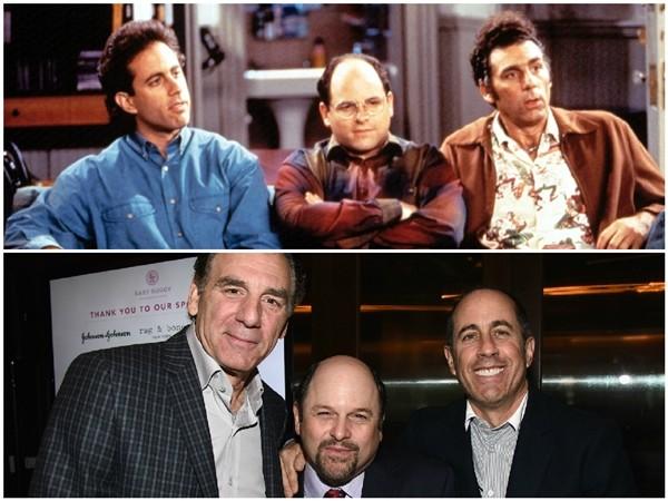 Jerry Seinfeld, Michael Richards e Jason Alexander (Foto: Divulgação)