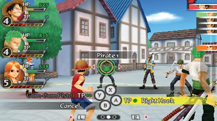 Com 4 Action Points uma boa opção de ataque é A, A, A e Y (Foto: gamecenter9.blogspot.com)
