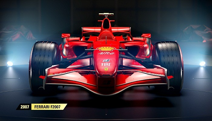 Ferrari de 2007 estará no game F1 2017