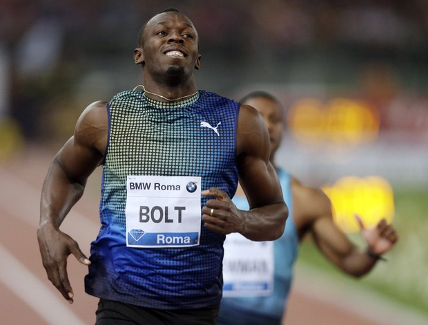 Usain Bolt roma diamond league atletismo (Foto: AP)