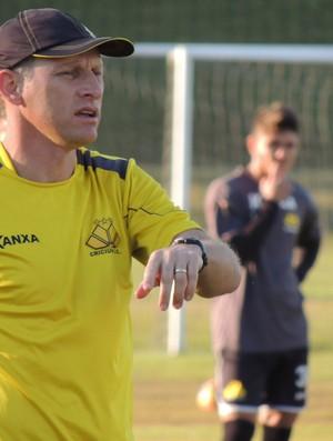 Silvio Criciúma técnico Criciúma (Foto: João Lucas Cardoso)