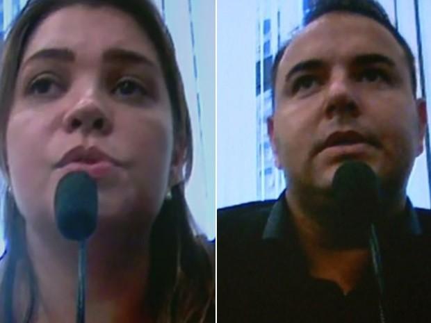 Casal é suspeito de aplicar golpes que somam R$ 100 milhões (Foto: Reprodução/EPTV)