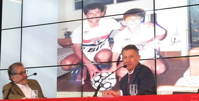 Osorio camisa São Paulo (Foto: Marcelo Hazan)