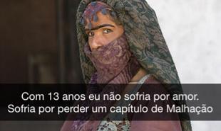Madame Dalila, disfarce de Elvira (Ingrid Guimarães) em 'Novo Mundo', virou meme | Reprodução Instagram