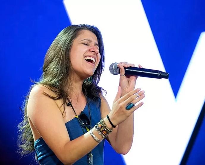 Carla Casarim The Voice Brasil (Foto: Isabella Pinheiro / Gshow)