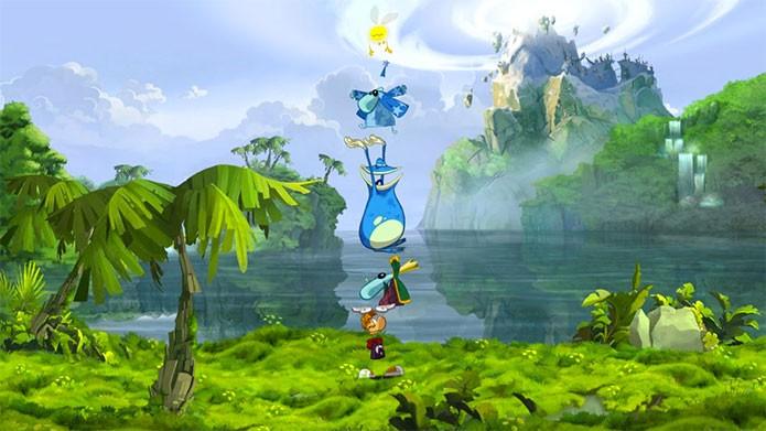 Rayman Origins leva beleza ao console (Foto: Divulgação)